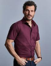 Men`s Short Sleeve Fitted Shirt